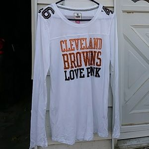 VS PINK Cleveland Browns shirt nice!